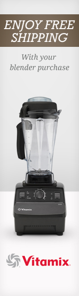 Vitamix blender FREE SHIPPING COUPON