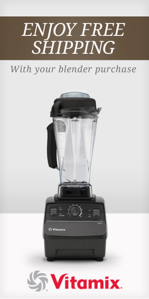 Vitamix affiliate banner--good